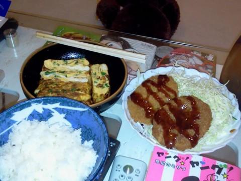 卵焼き&コロッケ