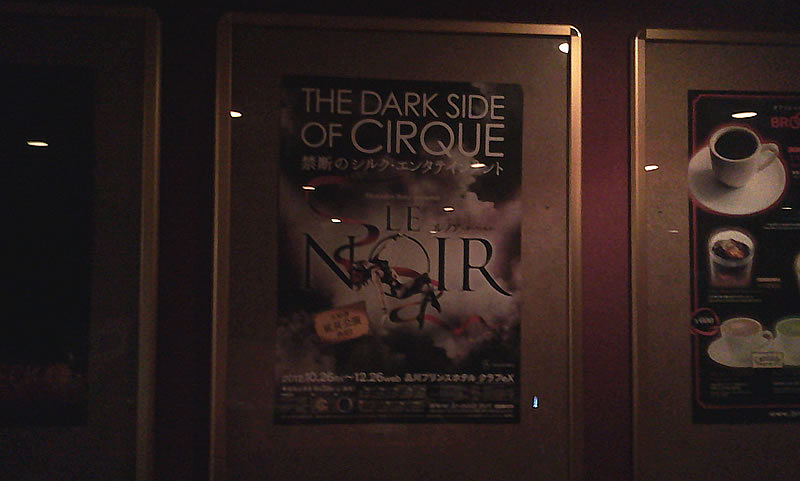LE NOIR - THE DARK SIDE OF CIRQUE